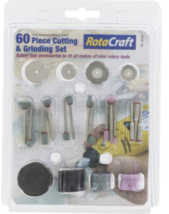 ROTACRAFT 60pc Cutting & Grinding set