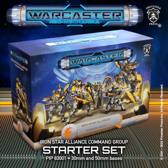 Warcaster Iron Star Alliance Command Group Starter Set