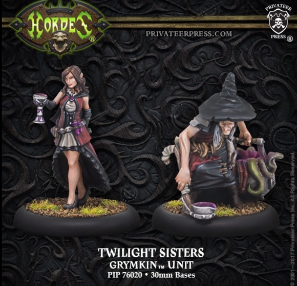 Twilight Sisters – Grymkin Unit (metal)