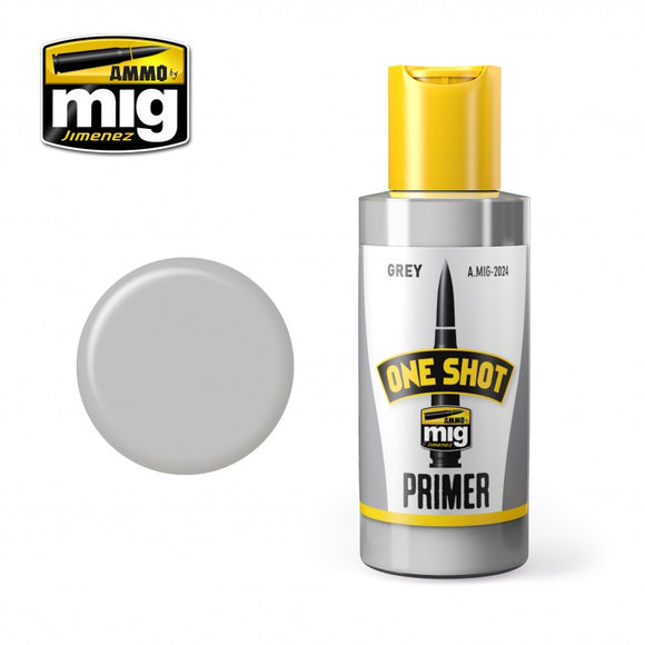 AMMO MIG ONE SHOT PRIMER GREY