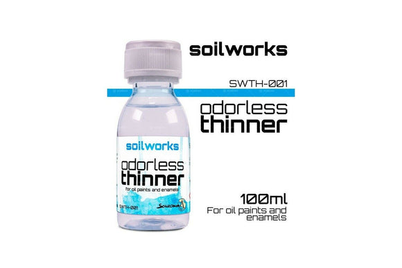 ODORLESS THINNER 100 mL Scale75