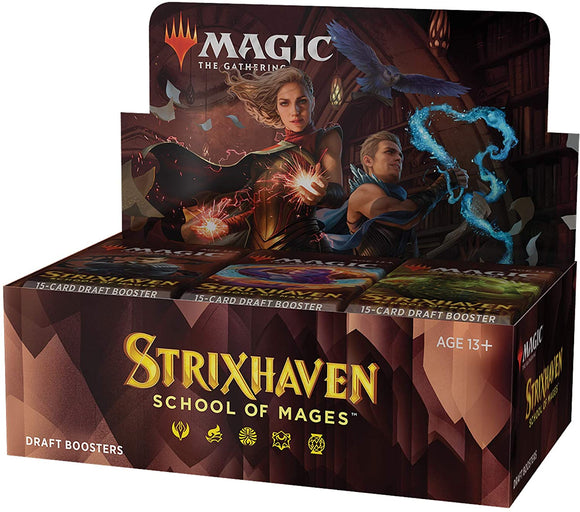 STRIXHAVEN School of Mages Draft Booster Box (36 packs)