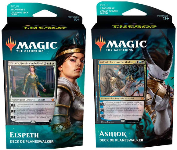 MTG THEROS BEYOND DEATH PLANESWALKER DECKS - 1 Box (Choose Elspeth or Ashiok)