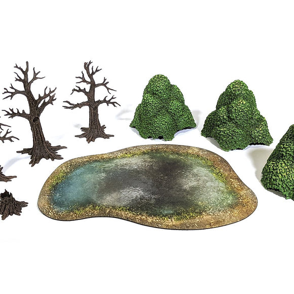 Monster Scenery Verdant Forest Pre Painted