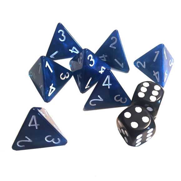 Moonstone Basic Dice Set - Game State Store