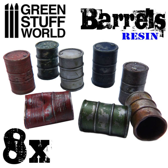 GSW - Resin Barrels set
