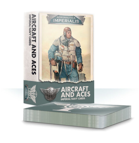 A/I: AIRCRAFT AND ACES: IMP. NAVY CARDS - Game State Store