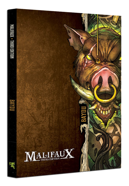 Bayou Faction Book - M3e Malifaux 3rd Edition - Game State Store