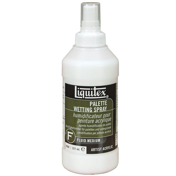 LIQUITEX PALETTE WETTING SPRAY 8OZ PUMP