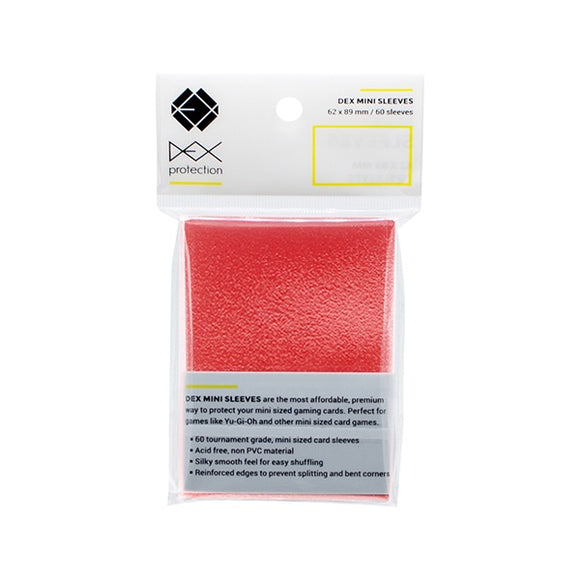 Dex Mini Sleeve - Red