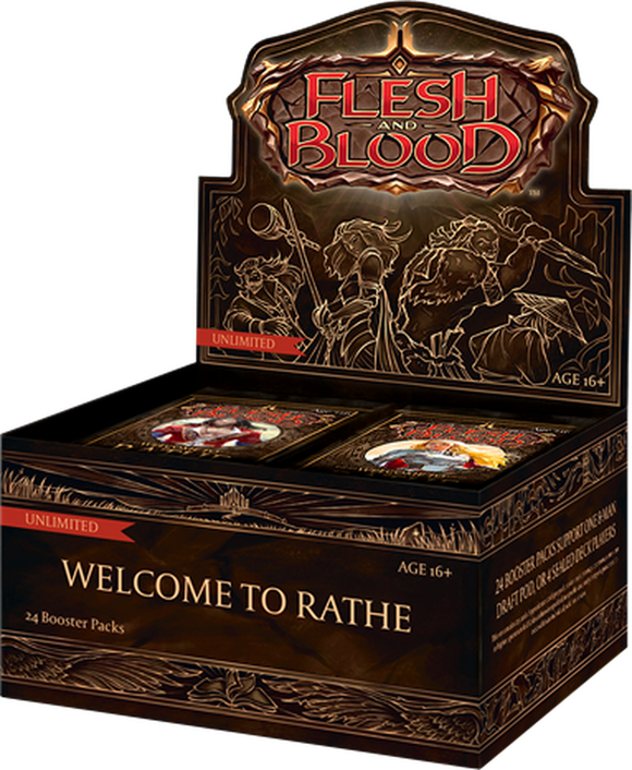 Flesh & Blood: Welcome to Rathe Unlimited One Booster Box