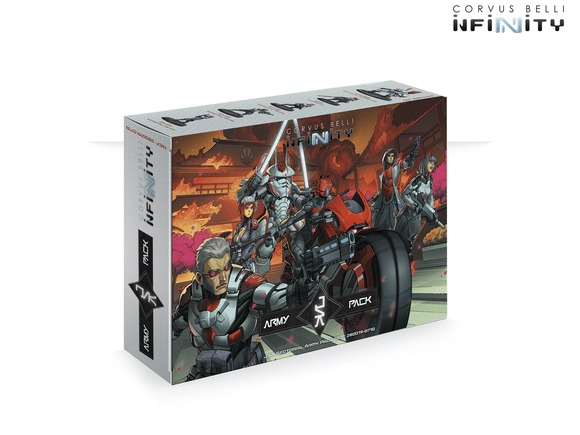 JSA Sectorial Army Pack with Kaizoku Spec-Ops (JSA Pre-Order Exclusive Model) - Game State Store