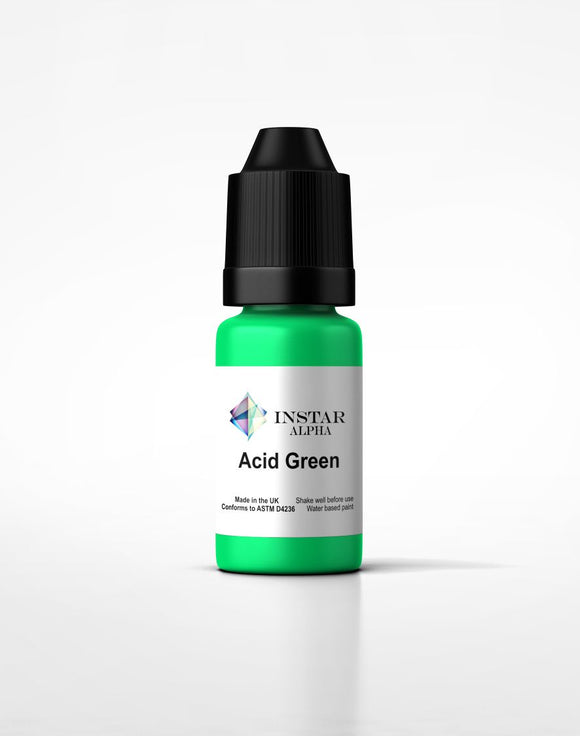 Instar Paint 20ml Alpha Acid Green - Game State Store