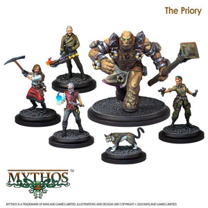 Mythos The Priory Faction Starter Set - Game State Store