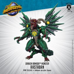 Monsterpocalypse Rastaban Draken Armada Monster (resin)