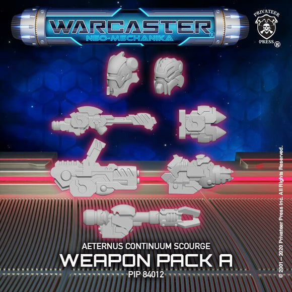 Warcaster Aeternus Continuum Scourge A Weapon Pack