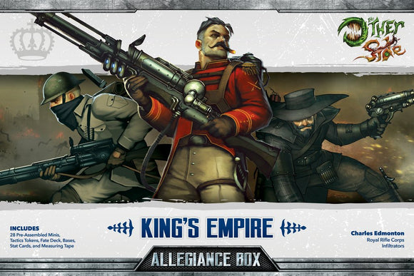 King's Empire Allegiance Box - Charles Edmonton