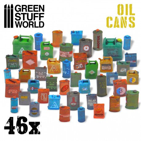 GSW Oil Cans