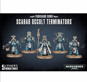 THOUSAND SONS SCARAB OCCULT TERMINATORS - Game State Store