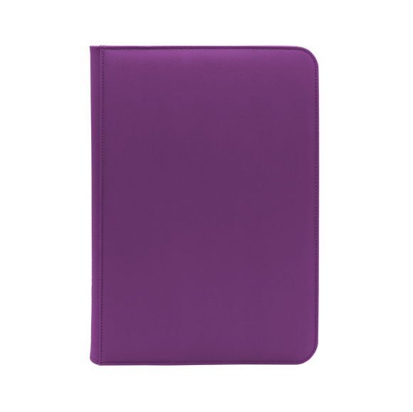 Dex Zipper Binder 9 - Purple
