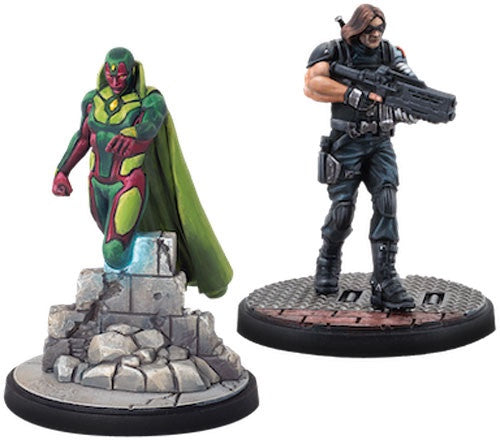 Marvel: Crisis Protocol: Vision & Winter Soldier