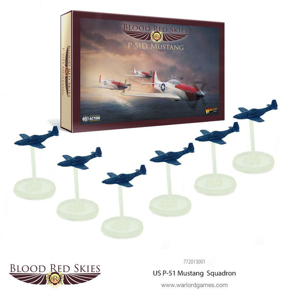 US P-51 Mustang Squadron - Game State Store