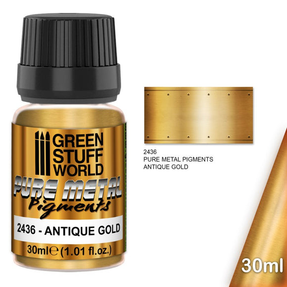 GSW Pure Metal Pigments Antique Gold 30ml