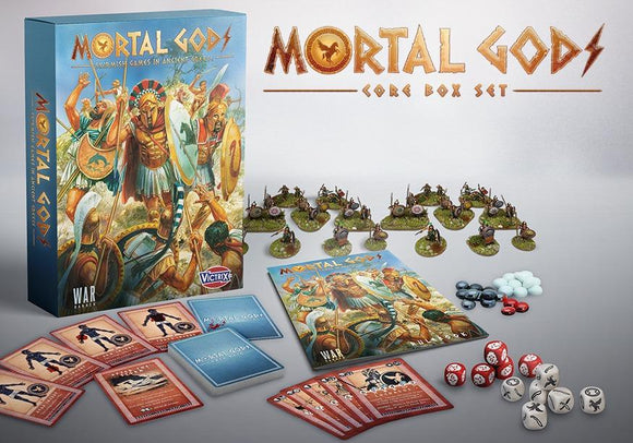 Mortal Gods Boxed Game - Game State Store