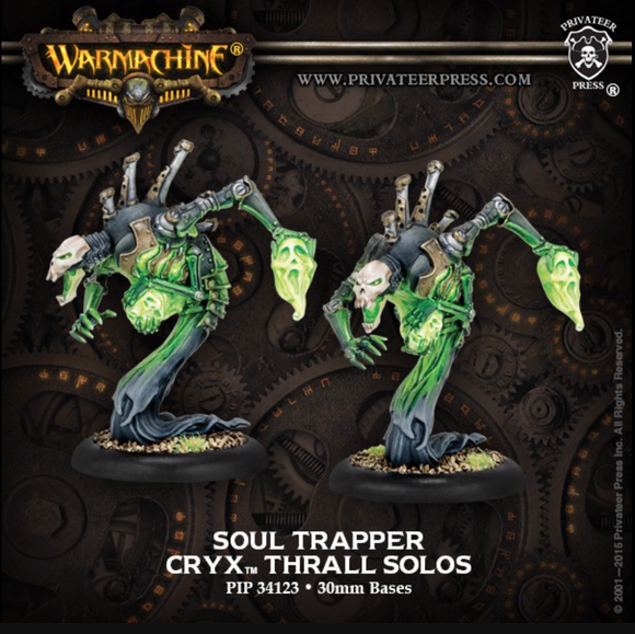 Soul Trapper Cryx Solos (2) (metal)