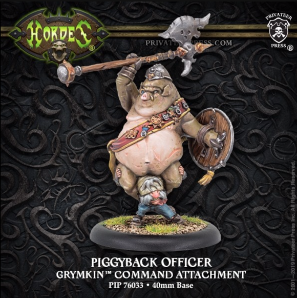 Piggyback Officer Grymkin Command Attachment (metal/resin)