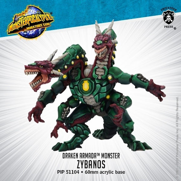 Monsterpocalypse Zybanos Draken Armada Monster (resin)
