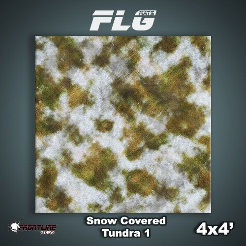 FLG Mats: Snow Covered Tundra 1 4x4'