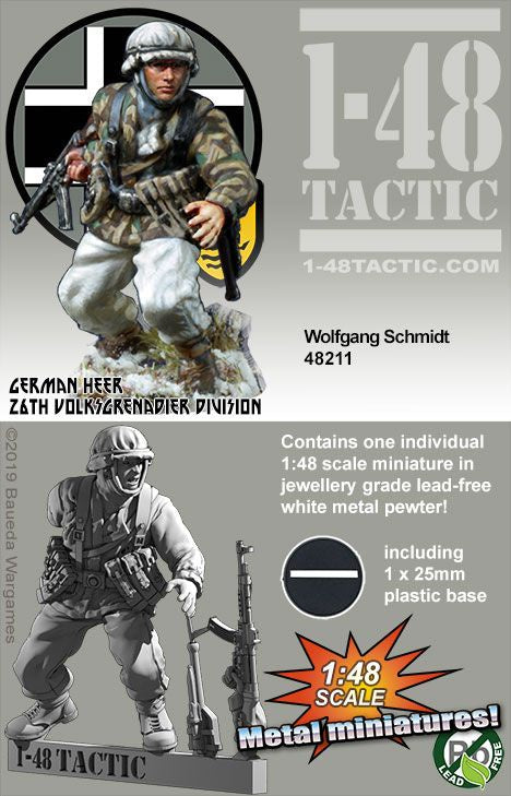 Wolfgang Schmidt - German 26th Volksgrenadier - Game State Store