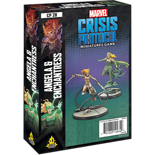 Marvel: Crisis Protocol Angela and Enchantress