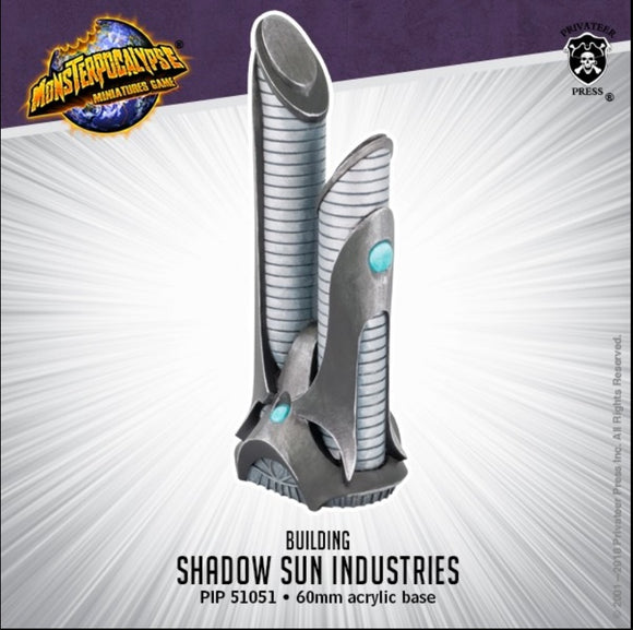 Shadow Sun Industries, Monsterpocalypse Building (resin)