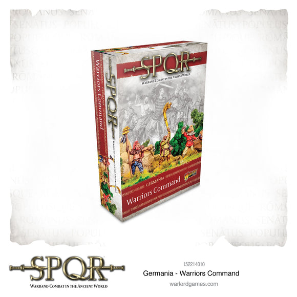 Germania Warriors Command - Game State Store