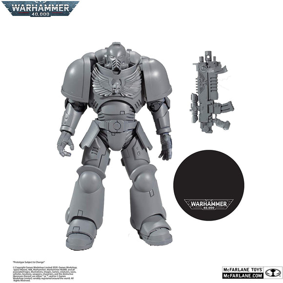 WH Special Releases McFarlane Toys Ultramarines Primaris Assault Intercessor Artist Proof