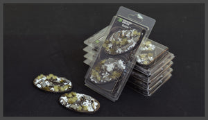 Battle Ready Bases: Winter Oval 90mm (x2) - Game State Store
