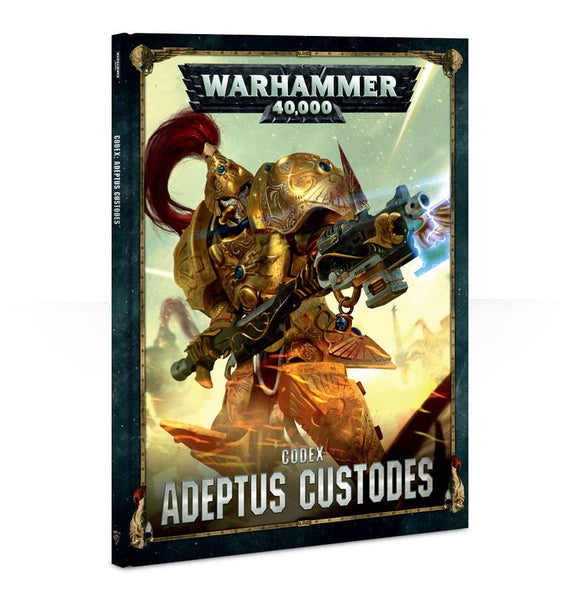 CODEX: ADEPTUS CUSTODES (HB) (ENGLISH) - Game State Store
