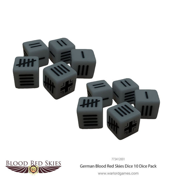 German Blood Red Skies Dice - Game State Store