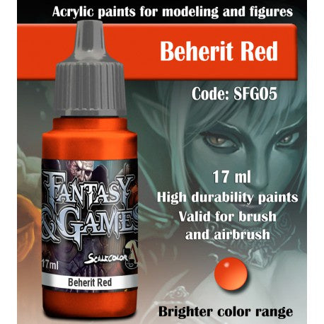 SFG BEHERIT RED 17 mL - Game State Store