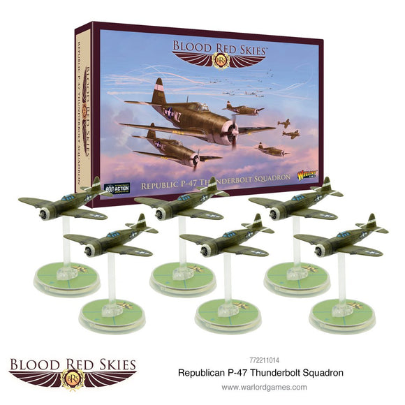 Republic P-47 Thunderbolt Squadron - Game State Store
