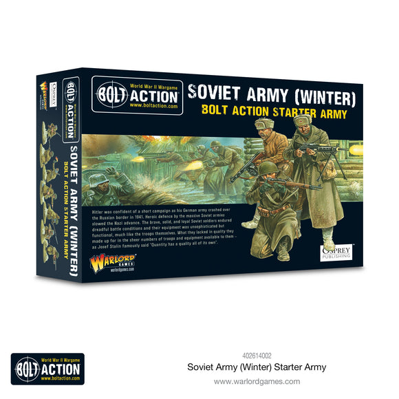 Soviet Army Winter Starter army