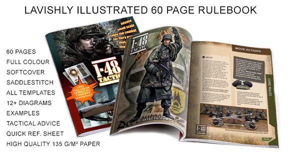 1-48 Tactic Core Rules 60 Page Rulebook - Game State Store