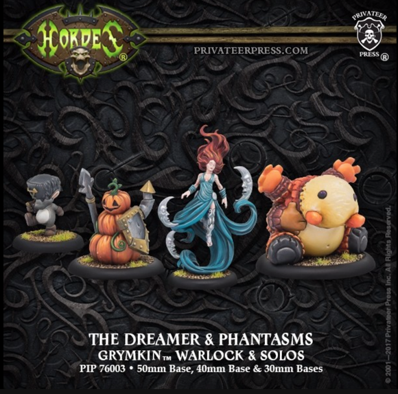 The Dreamer & Phantasms Grymkin Warlock (resin/metal)