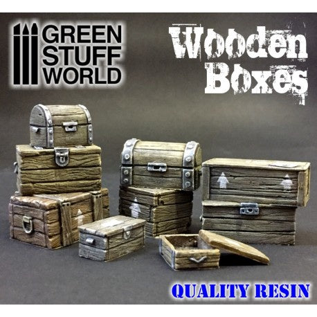 GSW MAQUETTE Wooden boxes set