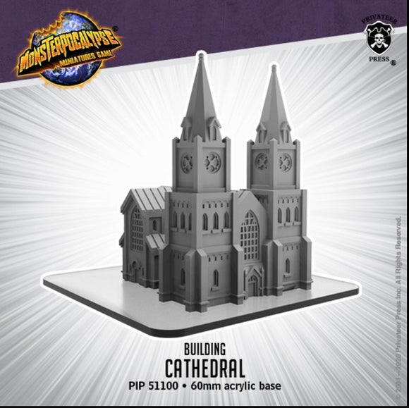 Monsterpocalypse Cathedral Building (resin)