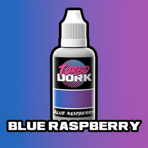 Turbo Dork Blue Raspberry Colorshift Acrylic Paint - 20ml Bottle - Game State Store