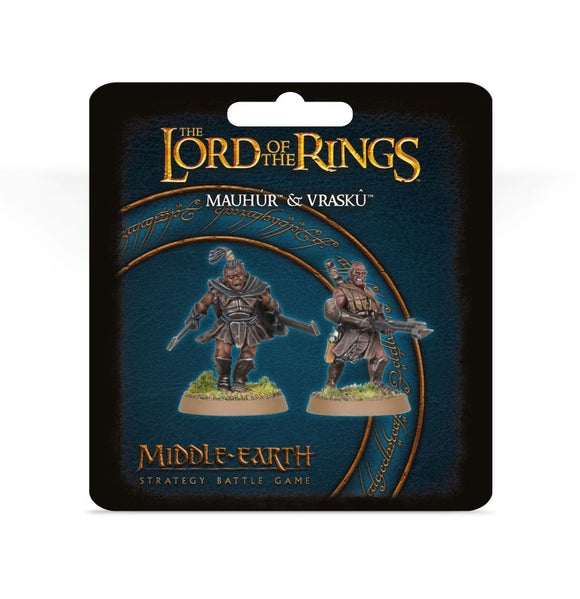 Web Order LOTR Mauhur and Vrasku