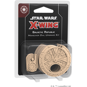Star Wars X Wing 2nd Edition Galactic Republic Maneuver Dial Upgrade Kit - Game State Store